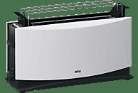 BRAUN HT 550 Toaster Weiß (1000 Watt, Schlitze: 1)