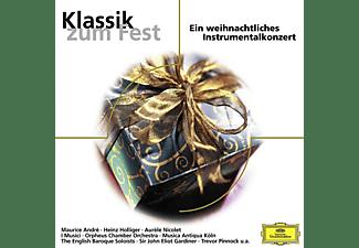 I Musici, Preston, Gardiner, Goebel, Andre, Bläser D.BP, Andre/Göbel/Gardiner/Preston/Bläser D.BP/I Musici - Klassik Zum Fest  - (CD)