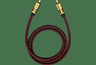 OEHLBACH NF Sub 300 Subwoofer Cinch-Kabel 3 m Subwooferkabel, Schwarz