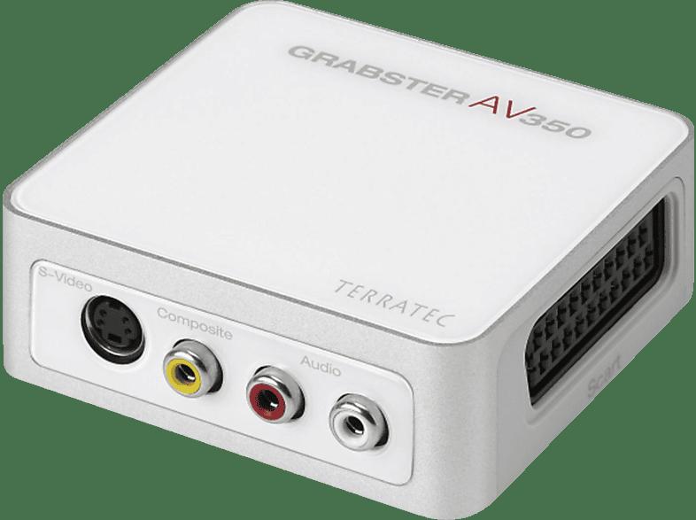 TERRATEC 10599 AV 350 MX GRABSTER Video-Grabber, Weiß