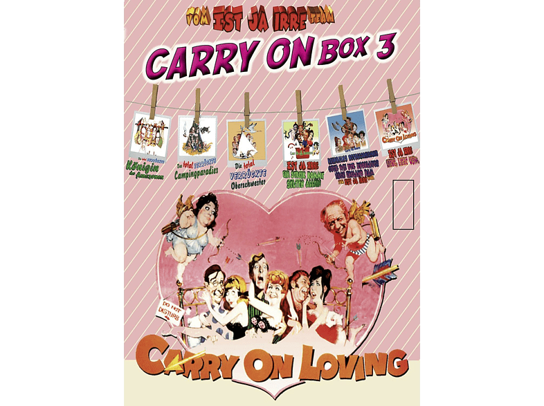 Ist ja irre - Carry On Box 3 [DVD]
