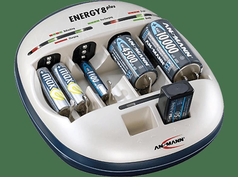ANSMANN Ladegerät Energy 8 plus Ladegerät