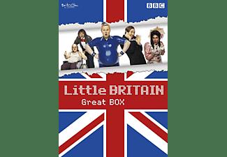 Little Britain - Great Box - Staffel 1-3 + Abroad + Live DVD