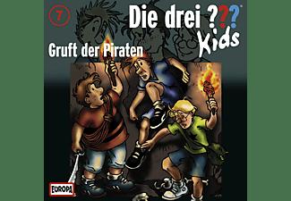 Die Drei ??? Kids 07: Gruft der Piraten  - (CD)
