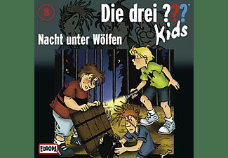 - Die Drei ??? Kids 08: Nacht unter Wölfen  - (CD)