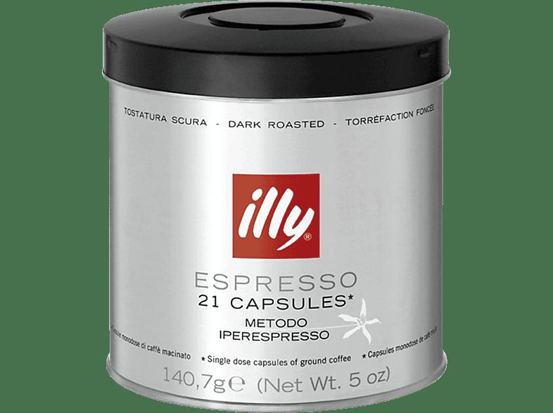 ILLY 7464/7735 M.I.E. Starke Röstung Kaffeekapseln (Illy Iperespresso Kaffeemaschinen)