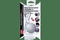 S+M digiCLEANER Set 4 - Luftpinsel, Zerstäuber, 50 Reinigungstücher Reinigungsset, Reinigungs Set für optische und technische Geräte wie Kameras, Objektive, Smartphones, Tablet PC usw., Weiß