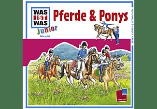 - WAS IST WAS? Junior 02: Pferde und Ponys  - (CD)
