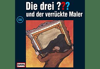 Die drei ??? 58: ...und der verrückte Maler  - (CD)
