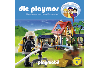 - Die Playmos 06: Abenteuer auf dem Eichenhof  - (CD)