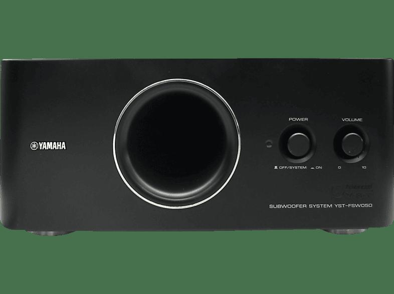 YAMAHA YST-FSW050 1 Stück Subwoofer (Aktiv, Schwarz)