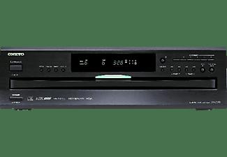 Lector CD - Onkyo DX-C390B, 6 discos, DAC 192 kHz, Negro