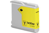 BROTHER Original Tintenpatrone Gelb (LC-1000Y)