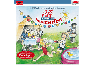 Rolf Zuckowski, Rolf Und Seine Freunde Zuckowski - Rolfs Familien-Sommerfest  - (CD)