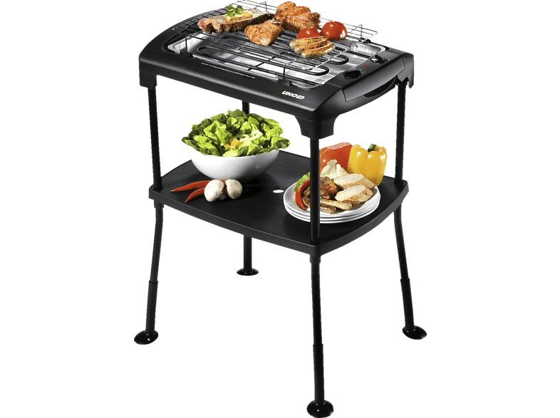 UNOLD 58550 Black-Rack Elektrogrill