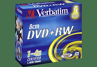 VERBATIM 43565 DVD+RW 8CM Rohling 5ER Jewelcase Rohling