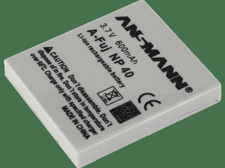 ANSMANN NP-40 Kameraakku Fuji , Lithium-Polymer , 3.7 Volt, 600 mAh