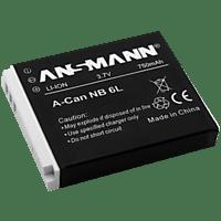 ANSMANN A-CAN NB 6L Akku  , Li-Ion, 750 mAh