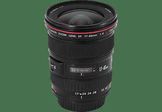 CANON EF 1:4,0/ L USM 17 mm - 40 mm f/4 EF, L-Reihe, USM (Objektiv für Canon EF-Mount, Schwarz)