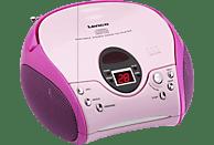 LENCO SCD-24 Radiorecorder (Pink)