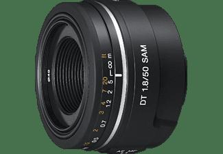 SONY SAL50F18 - 50 mm f/1.8 DT, Circulare Blende (Objektiv für Sony A-Mount, Schwarz)