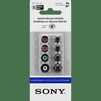 SONY EP-EX10A, In-ear Ersatzohrpolster  Schwarz