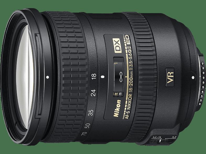 NIKON AF-S 18-200 mm VRII  für Nikon F-Mount, 18 mm - 200 mm, f/3.5-5.6