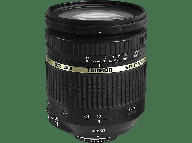 TAMRON 17 mm-50 mm f/2.8 Di II, SP (Objektiv für Canon EF-Mount, Schwarz)