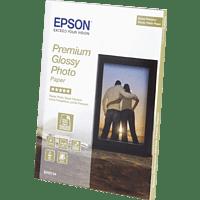 EPSON C13S042154 glänzendes Premium Einzelblattpapier 13 x 18 cm