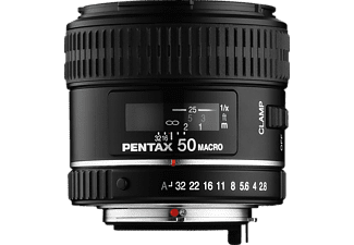 PENTAX SMC DFA 2,8/50mm Macro - 50 mm f/2.8 (Objektiv für Pentax K-Mount, Schwarz)