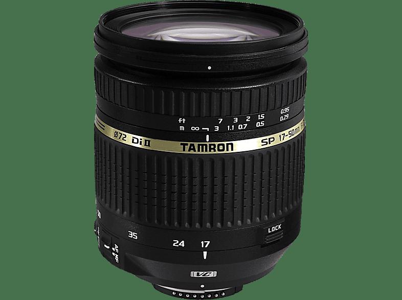 TAMRON 17-50mm/2,8 DI II VC  für Nikon F-Mount, 17 mm - 50 mm, f/2.8
