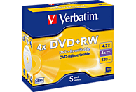VERBATIM 43229 DVD+RW 4X Rohling 5er Jewelcase Rohling