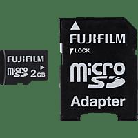 FUJIFILM 04000686 HIGH QUALITY, Micro-SD Speicherkarte, 2 GB, 8 MB/s