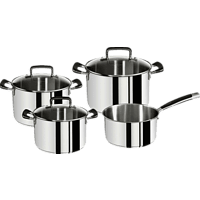 TEFAL E97790 Gourmet Series 7-tlg. Topf-Set (Edelstahl 18/10)