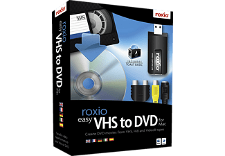 Mac - Roxio Easy VHS To DVD For Mac