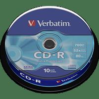 VERBATIM 43437 Extra Protection / Schutz SC CD-R 52X Rohling