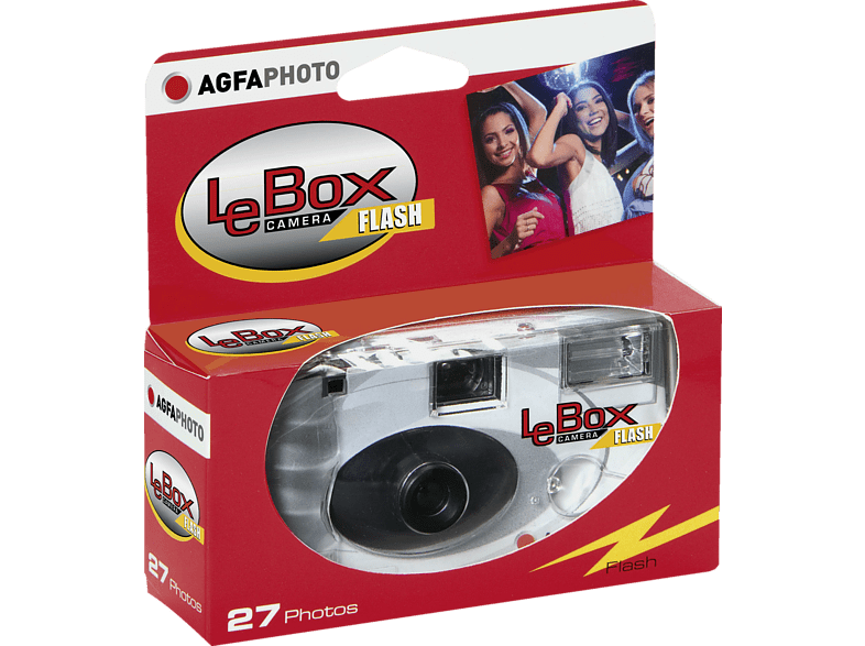 AGFAPHOTO LE Box 400-27 mit Blitz Einwegkamera