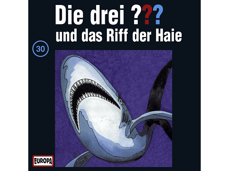 Die drei ??? 30: ...und das Riff der Haie - (CD)
