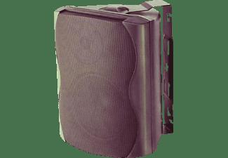JB SYSTEMS K30 Designlautsprecher mit ansprechendem Kunststoffgehäuse (Paar), schwarz
