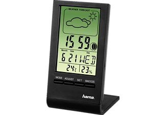 HAMA TH-100 LCD Thermometer/Hygrometer - (00075297)