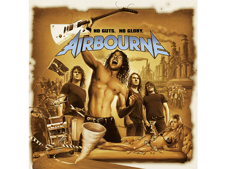 Airbourne - No Guts, No Glory [CD]