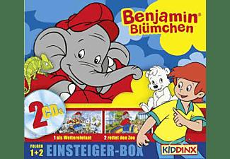 Benjamin Blümchen - BENJAMIN BLÜMCHEN 1.1-2 EINSTEIGERBOX [CD]