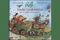 Rolf Zuckowski - Rolfs bunte Liederreise - (CD + Buch)