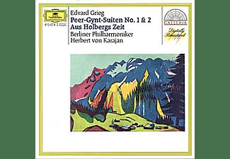 Herbert von Karajan, Herbert Von Bp/karajan - PEER GYNT SUITE NR.1&2 AUS HOLBERGS ZEIT SIGURD  - (CD)