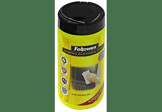 Limpieza de pantallas - Fellowes, 100 toallitas biodegradables