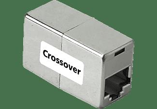 "HAMA CAT5e-Netzwerkadapter ""Cross-Over"", 2x Modular 8p8c (RJ45)-Kupplung"