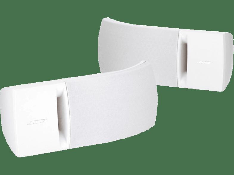 BOSE 161 Speaker System 1 Paar Regallautsprecher (Stereo Front-Lautsprecher, Weiß)