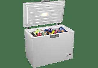 BEKO HSA 24530 Gefriertruhe (186 kWh/Jahr, 230 Liter, 860 mm hoch)