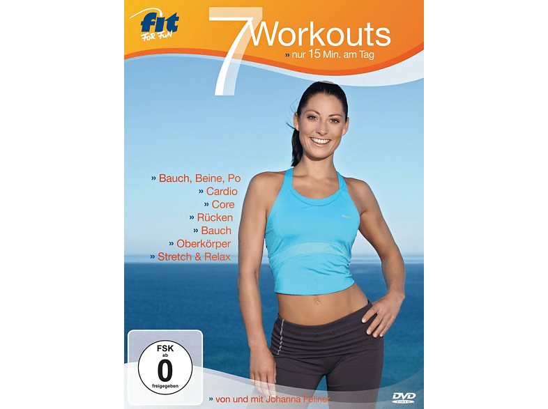 Fit For Fun - 7 Workouts - nur 15 Min. am Tag [DVD]