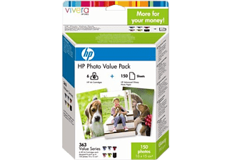 HP Tintenpatrone Nr. 363 Photo Value Pack (Q7966EE)